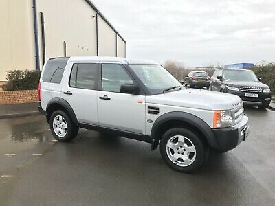 Land Rover Discovery 3 Tdv6 Manual 132k 2004 Cheaper Tax 4x4 7 Seat