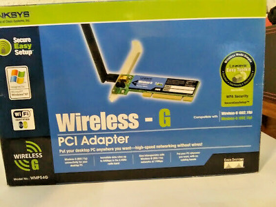 LINKSYS WIRELESS G WMP54GS VER 1.1 DRIVER FOR WINDOWS 8