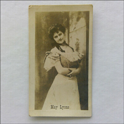 May Lyons American Tobacco Co Cigarette Card (CC1)