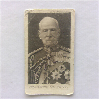 Field Marshal Earl Roberts The Great War 18 Westminster Cigarette Card (CC1)