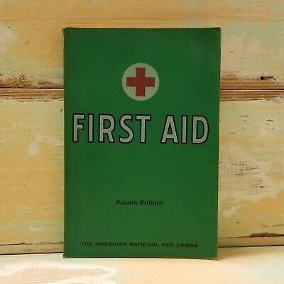 First Aid Textbook Fourth Edition by The American Red Cross (1970, Paperback)