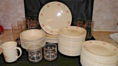 GUC CORELLE BY Corning Forever Yours Discontinued Replacement Dish Dessert  Glass