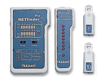 Netfinder Pro W/ Patch Panel Organiser