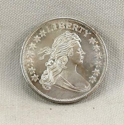 Draped Bust One Troy Ounce .999 Silver Round!