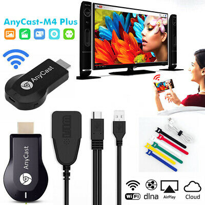Anycast M4 Plus Dongle WiFi TV 1080P Airplay Display DLNA HDMI Receiver Miracast