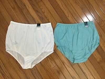 3389c22a3ade NWT Vanity Fair Lot Of 2 Perfectly Yours Ravissant Brief Panty Sz 9 / 2XL (