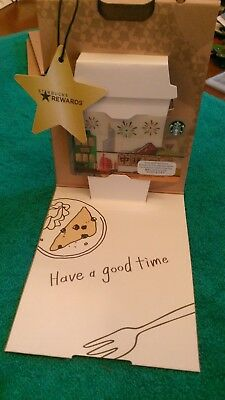 Sold Out! STARBUCKS Hong Kong SIGHTSEEING Gift Card w/Paper Bag Sleeve US Seller