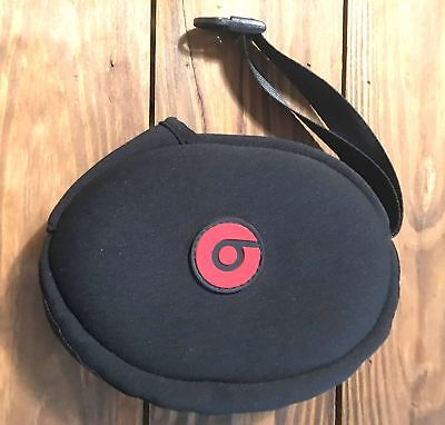 Genuine Carrying Cases for Beats Headphones Black Red