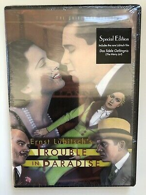 Trouble in Paradise (Criterion DVD, 2003) New!!!