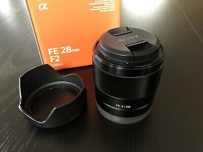 Sony SEL 28mm f/2 FE Lens E-mount SEL28F20 PERFECT CONDITION
