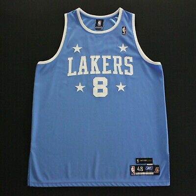 be8fcbff84e Authentic Kobe Bryant 48 Los Angeles Lakers Jersey 1959-60 Reebok Throwback  HWC