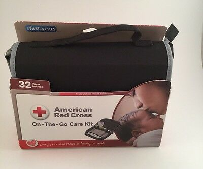 American Red Cross On-The-Go Care Kit Baby The First Years Infant Set 32 Pieces