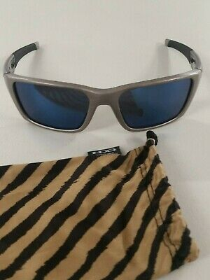 08a8b49e5f OAKLEY JURY DISTRESSED Silver ice Iridium Sunglasses Oo4045-03 ...