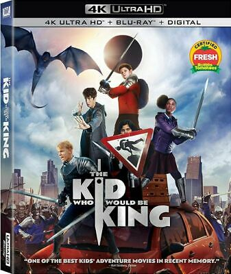 The Kid Who Would Be King (4K Ultra HD + Bluray) + Gift!