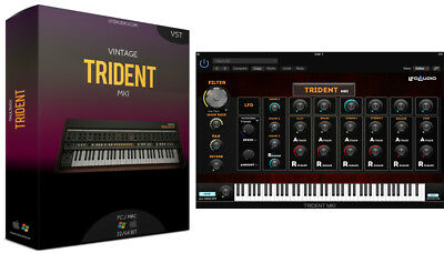 KORG TRIDENT VST Plug-in samples sounds synth analog REASON