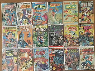Lot 11 (29 VF-NM/M HIGH VALUE Comics) - MARVEL/DC/SHAZAM!/SUPERGIRL/THOR...