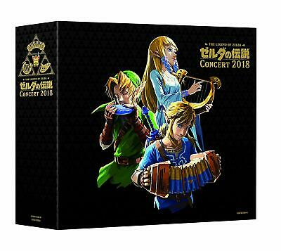 M878 CD The Legend of ZELDA Concert 2018 Initial Limited +Blu-ray+Acrylic Charm