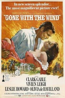 Gone with the Wind Poster//Gone with the Wind Movie Poster//Movie Poster//Poster