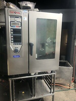 Rational CPC 10 Tray Combi Oven In Excellent Working Condition.