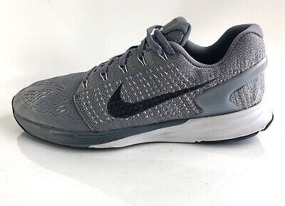 sports shoes 0a897 66642 Nike Lunarglide 7 Men s Running Shoes Size 11 Cool Grey Black 747355-002