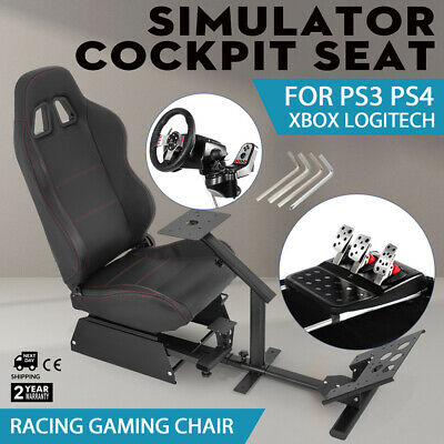 Enjoyable Racing Simulator Cockpit Driving Seat Gaming Chair Xbox 360 Andrewgaddart Wooden Chair Designs For Living Room Andrewgaddartcom