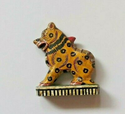 Vintage Indian Wooden Hand Crafted Animal