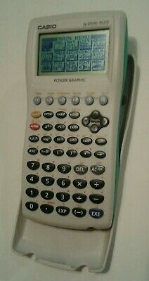 CASIO POWER GRAPHIC fx-9750G PLUS pre-owned good condition tested works