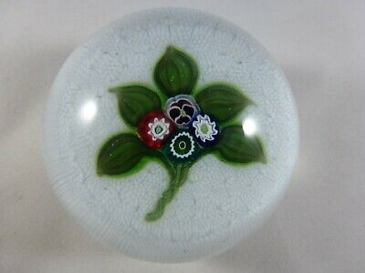 Parabelle Glass Millifiori Nosegay Glass Paperweight