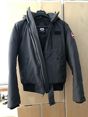 dde1363d80d CANADA GOOSE MEN S Borden Bomber Jacket Graphite size small Gray S ...