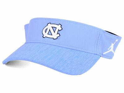 huge selection of d29c3 5812c Nwt Air Jordan North Carolina Tar Heels Ncaa Sideline Visor Hat Baby Blue