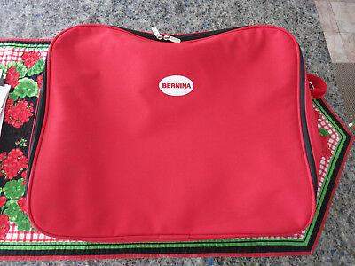 BERNINA Red Embroidery module Unit storage bag Tote Many Uses
