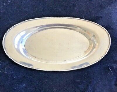 Antique Sterling Silver Bread Tray