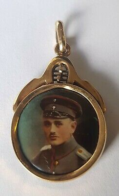 Rare Ww1 German Officer Sweetheart Locket Original 1914-18