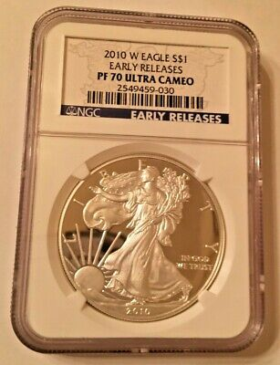 2010-W (Proof) Silver American Eagle PF-70 UCAM NGC Early Release
