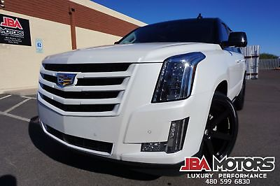 2016 Cadillac Escalade Premium Escalade 4x4 SUV $138k MSRP ONE of a KIND 2016 Cadillac Escalade Premium 4WD 4x4 SUV 1 Owner like 2013 2014 2015 2017 2018