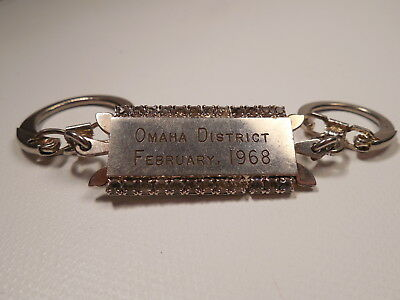 Omaha Ford Dealers >> Vintage Ford Dealer Omaha District February 1968 Keychain Lapel Pin