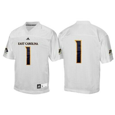 new product 2d087 09d7e EAST CAROLINA PIRATES NCAA Adidas Gold #17 Official Football ...