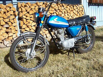 1970 Honda CL  1970 HONDA CL 100   orginal paint & chrome   5221 miles   Complete Resoration