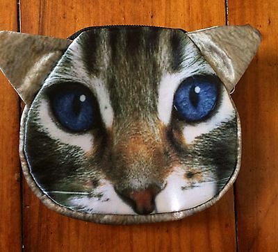 Cat coin purse - new