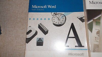 Microsoft Word V5.0        Vintage = Think it's Early 1990's