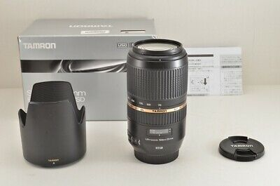 TAMRON SP 70-300mm F4-5.6 Di VC USD A005 AF Zoom Lens for Canon EOS EF #190306g