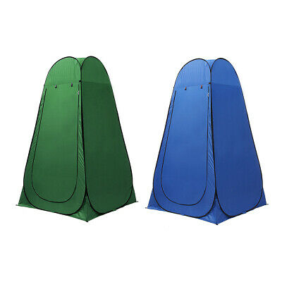 Upgrade Portable Pop Up Tent Camping Beach Toilet Shower Changing Room Window AU