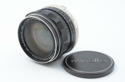 MINOLTA MC W.ROKKOR-SG 28mm f/3.5  for MD 12695 YVH