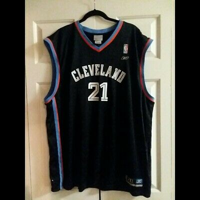 746fcff9f11 Cleveland Cavaliers 2002 Reebok DARIUS MILES Mens - Authentic NBA JERSEY -  2XL