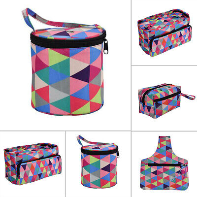 1pc Large Knitting Bag Yarn Storage Bag DIY Craft Tote For Wool Crochet Needles