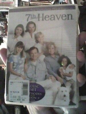 7th Heaven - The Complete Third Season(DVD 6-Disc Set)Brand New Sealed,FREE SHIP