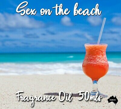 Sex On The Beach Top Quality Fragrance Oil, 50 Mls - Candles, Soaps, Diffusers