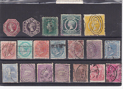 STAMPS..Australia,,New South Walesx 19 , old ones