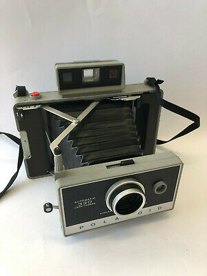 Exc Vintage Polaroid Automatic 330 Land Camera + Original Box + Instructions