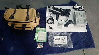 Vintage National Colour Video Camera WVP-50N incl canvas carry bag Free Postage